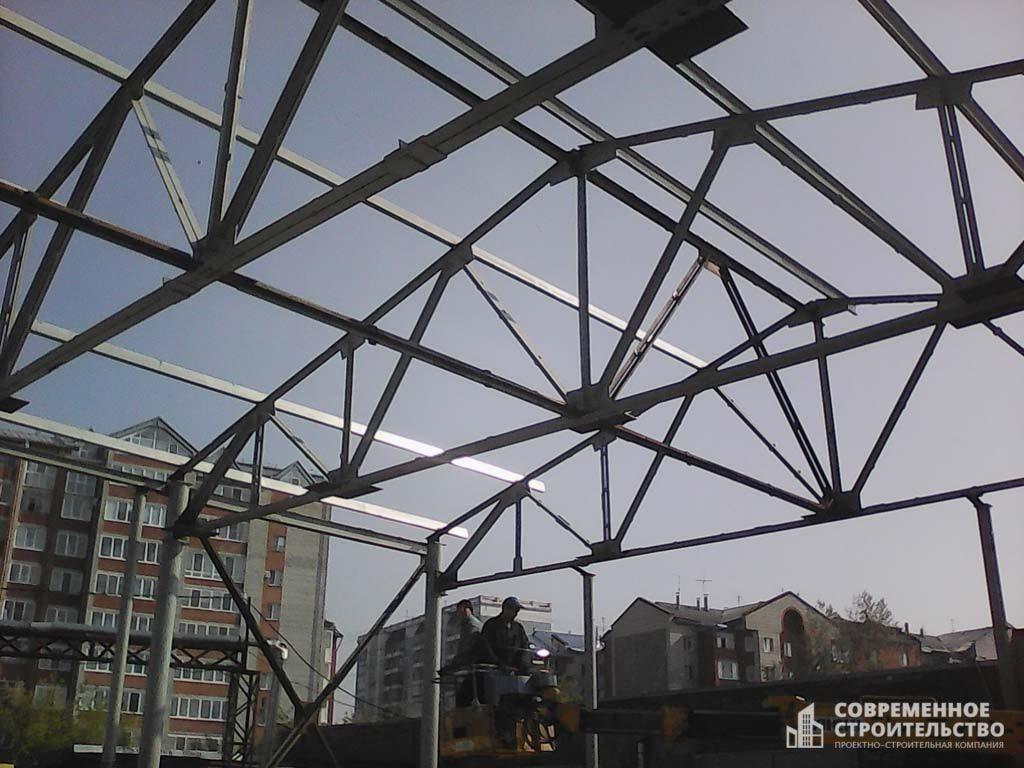 Проектирование и монтаж металлоконструкций в Томске. Любая сложность, полный комплекс работ.