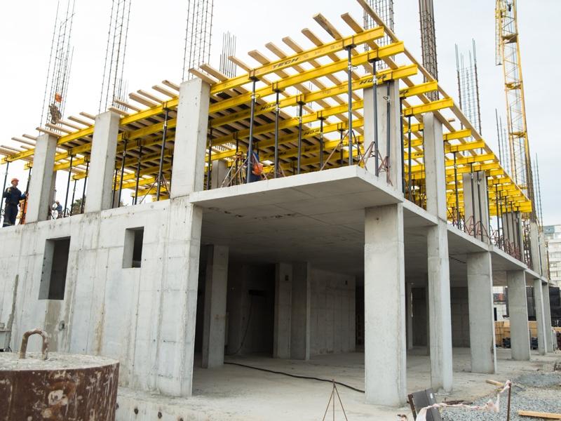 Монолитные работы: монолитный фундамент, монолитные стены, перекрытия, монолитное строительство в Томске. Бетонные работы любой сложности.