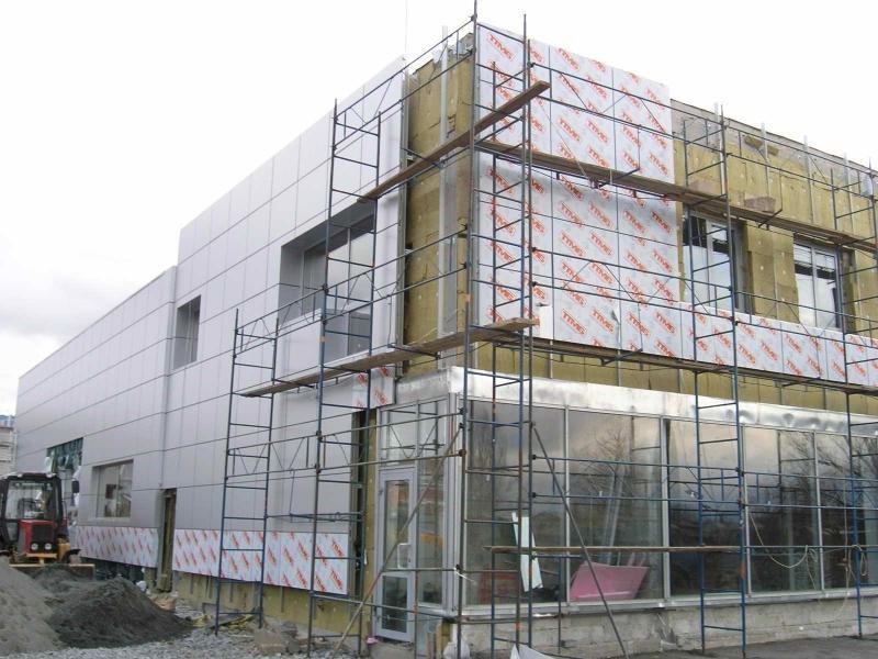 Фасадные работы. Выполняем фасадные работы в Томске по низким ценам. Виниловый сайдинг, мокрый фасад, облицовка камнем, профессионально.
