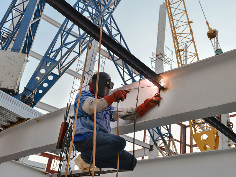 Монтаж металлоконструкций в Томске любой сложности. Проектирование, строительство металлоконструкций, монтаж металлоконструкций.